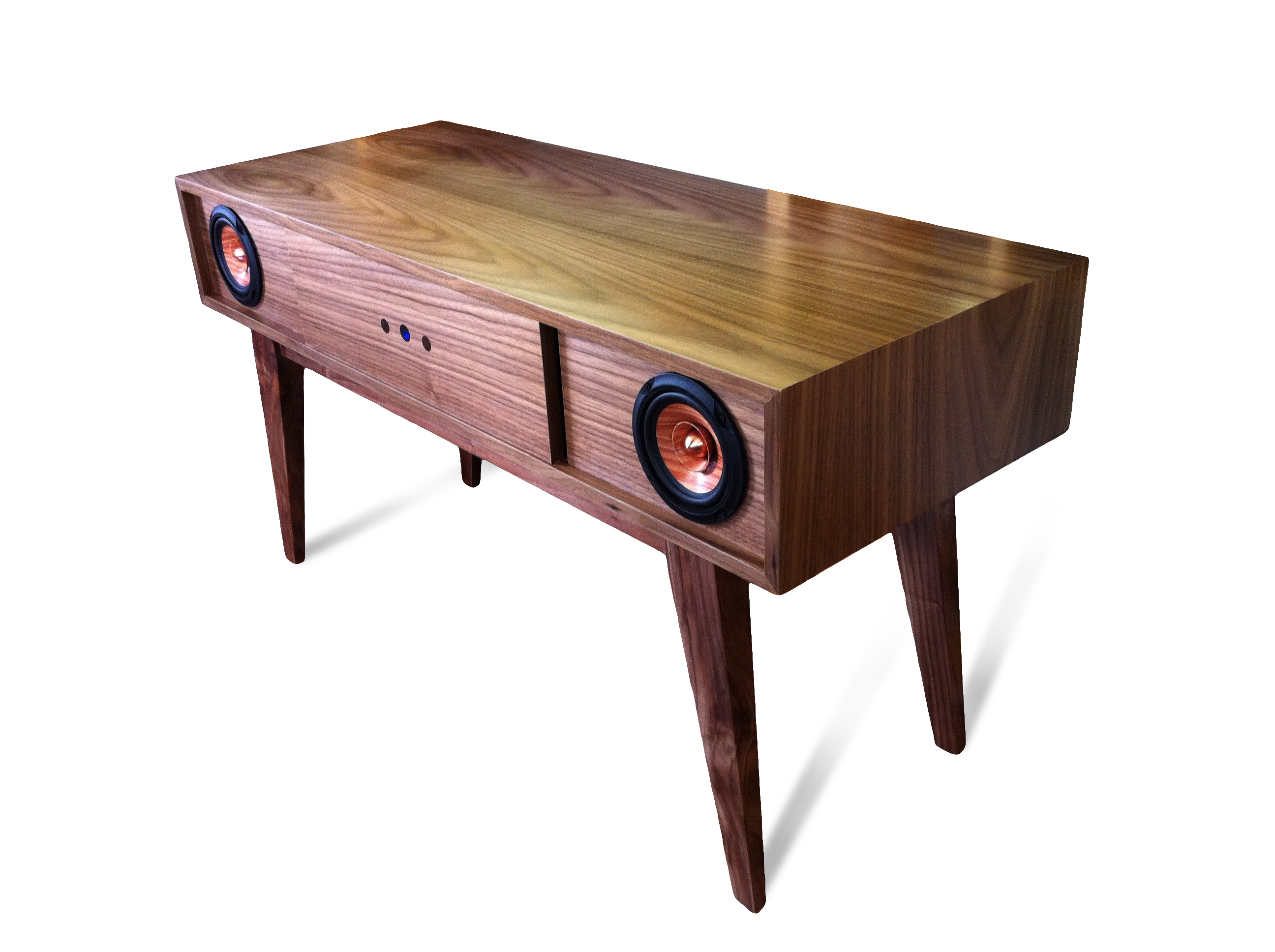 New Retro Modern Console Custom Made Speakers And Audio